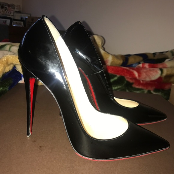 78377153e5 Christian Louboutin Shoes | Kate Patent Red Sole Pump | Poshmark